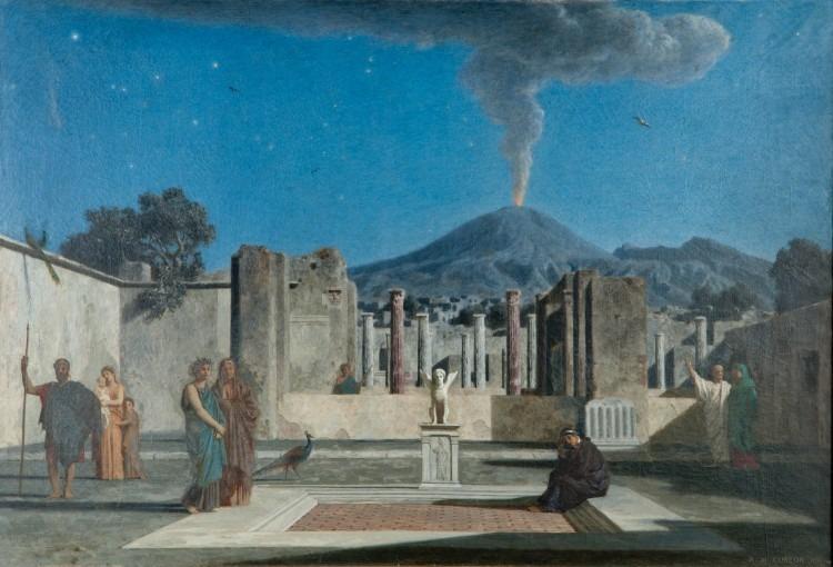 Un rêve dans les ruines de Pompéi