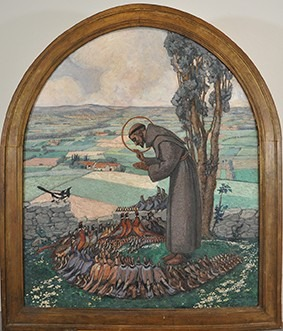 Le Prêche de saint François aux oiseaux