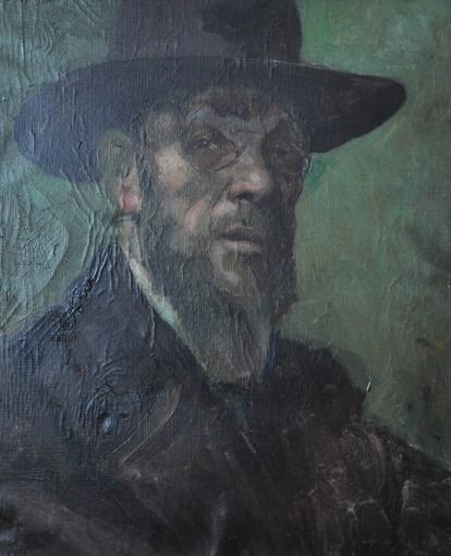 Portrait de Jean-Paul Laurens