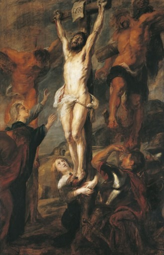 Le Christ entre les deux larrons