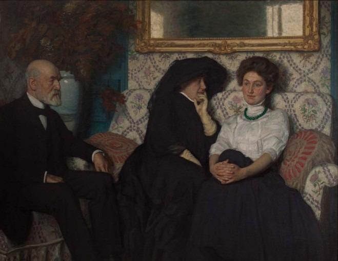 Portrait de la famille Saglio