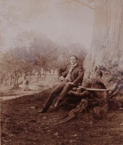 Romuald Joubé au plateau de la Caoue