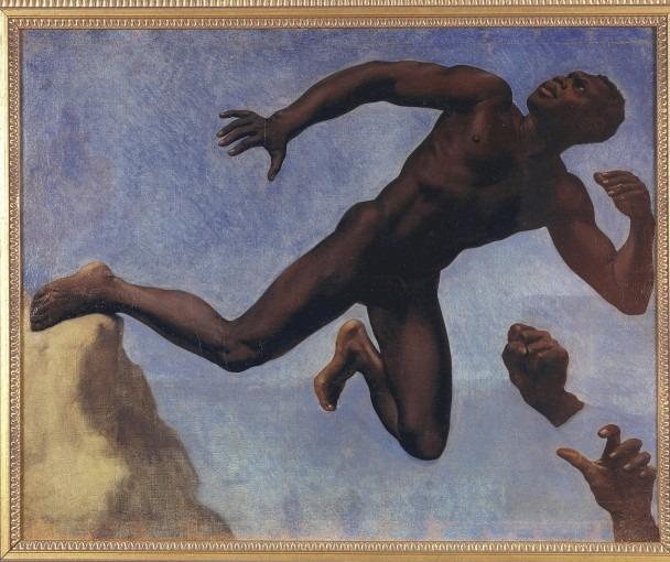 L'Étude de noir d'après le modèle Joseph