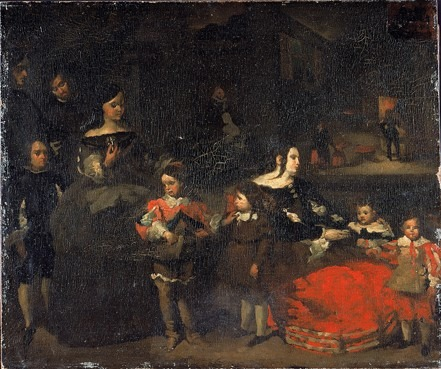 La Famille du peintre del mazo