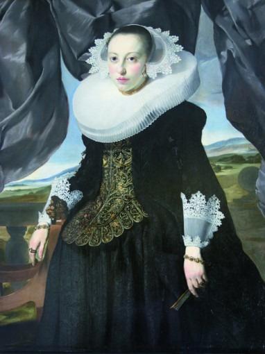 Portrait d'une jeune hollandaise